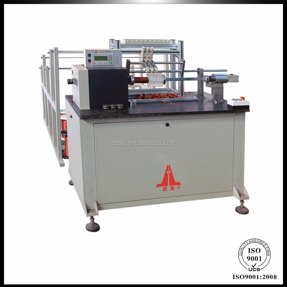 Cutting Coil Winding Machine Electric Motor Pulling Motor Winding Tools
