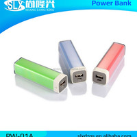 Lipstick Portable Power Bank 2600mah Mobile