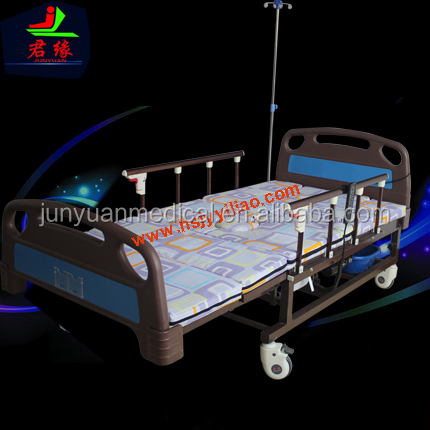 alibaba Junyuan D01-2 electric home care bed for patients in hebei medical manual bed medical hospital bed hospital furniture