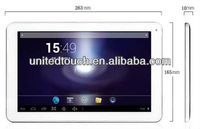 2013 new products 10.1 inch tablet pc AllWinner A20 DUAL CORE Cortex A7 made in China