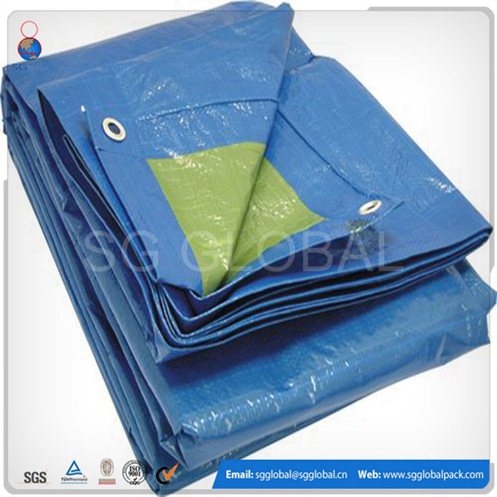 Truck covering plastic recycled fire retardant tarpaulin