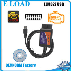OBD/OBDII Scanner ELM 327 car diagnostic interface scan tool elm327 usb