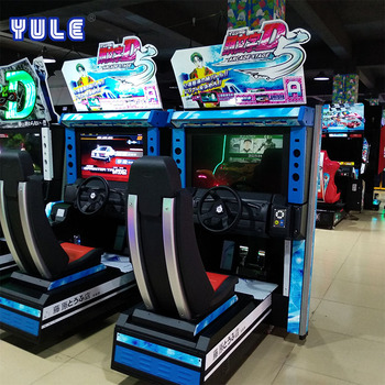 Factory price arcade amusement Initial 5D 3d video game console simulator driving car racing game machine for sale
