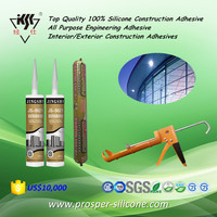 Top Quality 100% Silicone Construction Adhesive/All Purpose Engineering Adhesive/Interior or Exterior Construction Adhesives