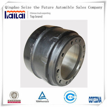 Sinotruk Howo Truck Brake Parts with Brake Drum For Sale