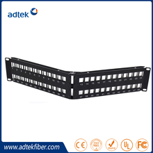 UTP Cat5e&Cat6 Krone IDC 1U 48 ports Patch Panel