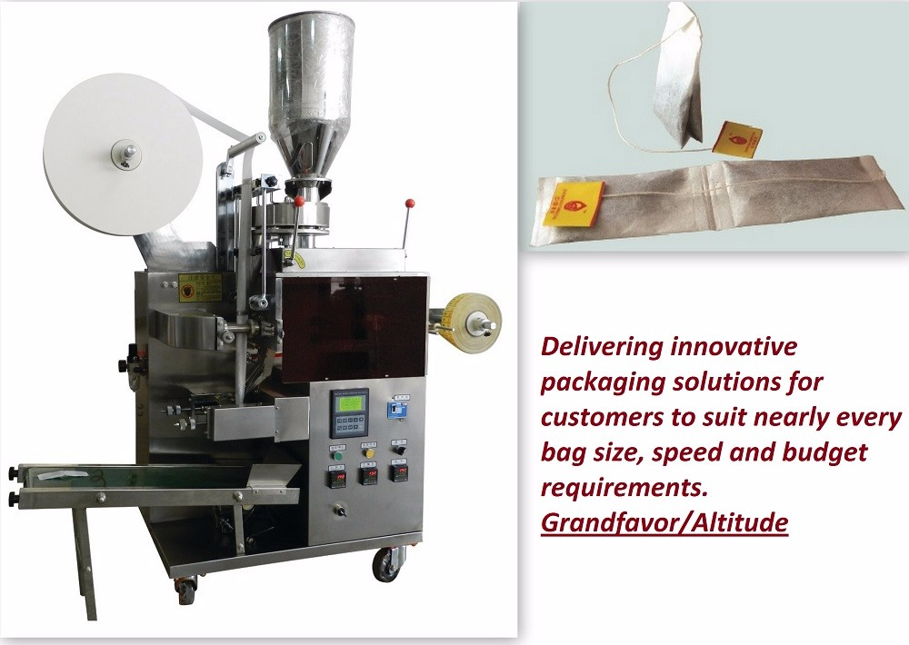 C13 Automatic economic double chamber Lipton tea bag wrapping machine