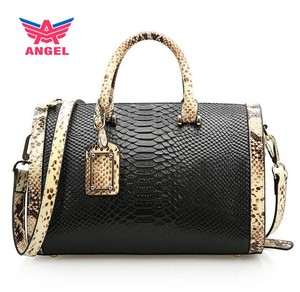 2018 Fashion brand black women handbags ladies genuine leather vanity bag