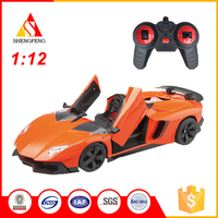 Good quality 5 channel rc convertible electric toy racing sports car