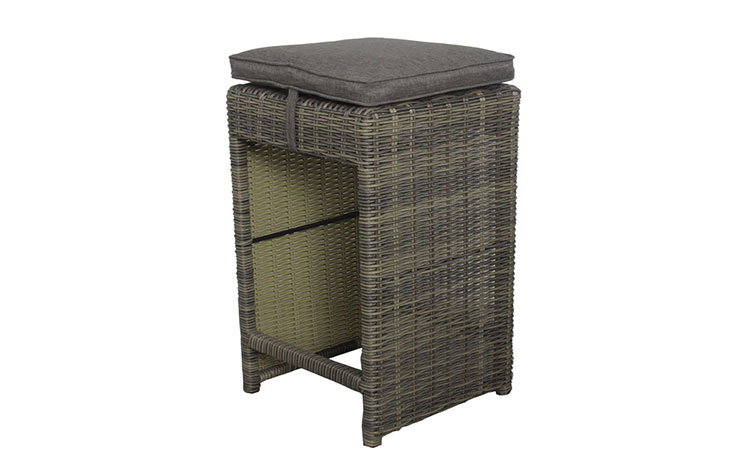 Factory price outdoor portable rattan bar stools