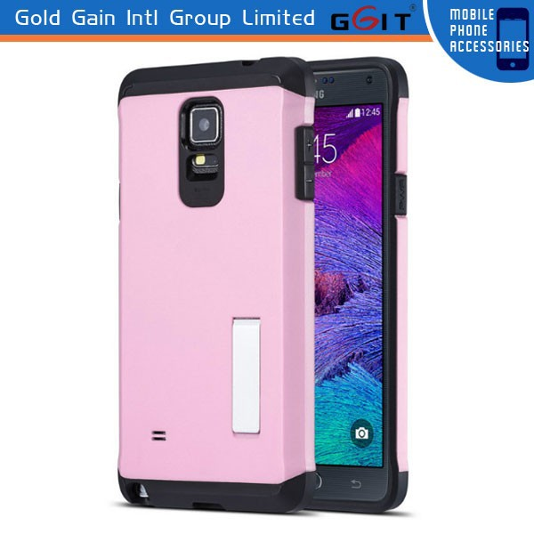TPU+PC Case for Samsung Note 4 Protective Case