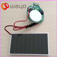 Solar Panel Led Display Light