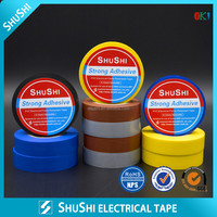 600V Strong Adhesive PVC Electrical Tape for insulation connection and phase labeling