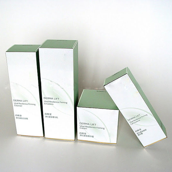 Cardboard rectangle folding paper box wholesale