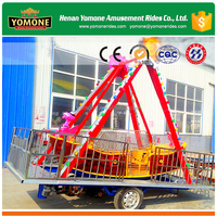 Mobile playground/funfair games of small amusement rides with trailer for sale
