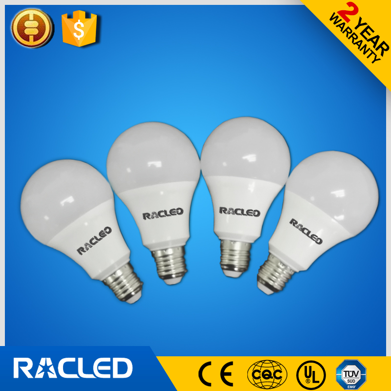 Free sample! 5w 400lm e27 ra80 pf0.5 3000k 4000k 6000k a50 5w Bulbs Light 400lm Energy Saving E27 Led Light Bulbs well