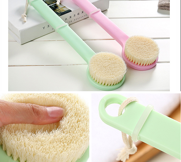 Sofeel Hot soft back body bath brush with plastic handle
