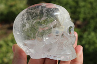New product Wholesale Natural Unique alien Crystal skull crystal healing