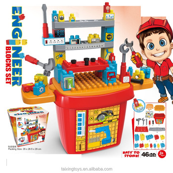 Newset Design and Highest Quality Building Block Tool Set for Kids