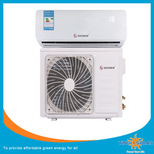CE,ROHS 1P 1.5P Solar Power Source DC solar air conditioner