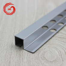 Skillful manufacture end cap square edge tile trim stainless steel tile trim