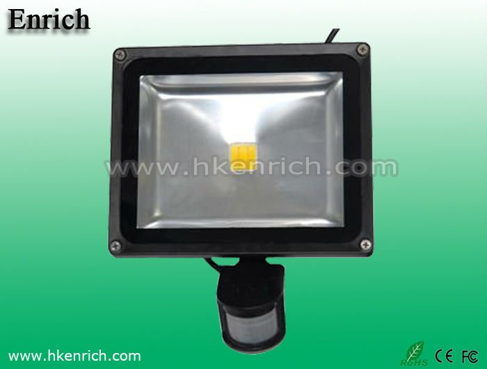 10w multi-chip LED Motion sensor flood led light