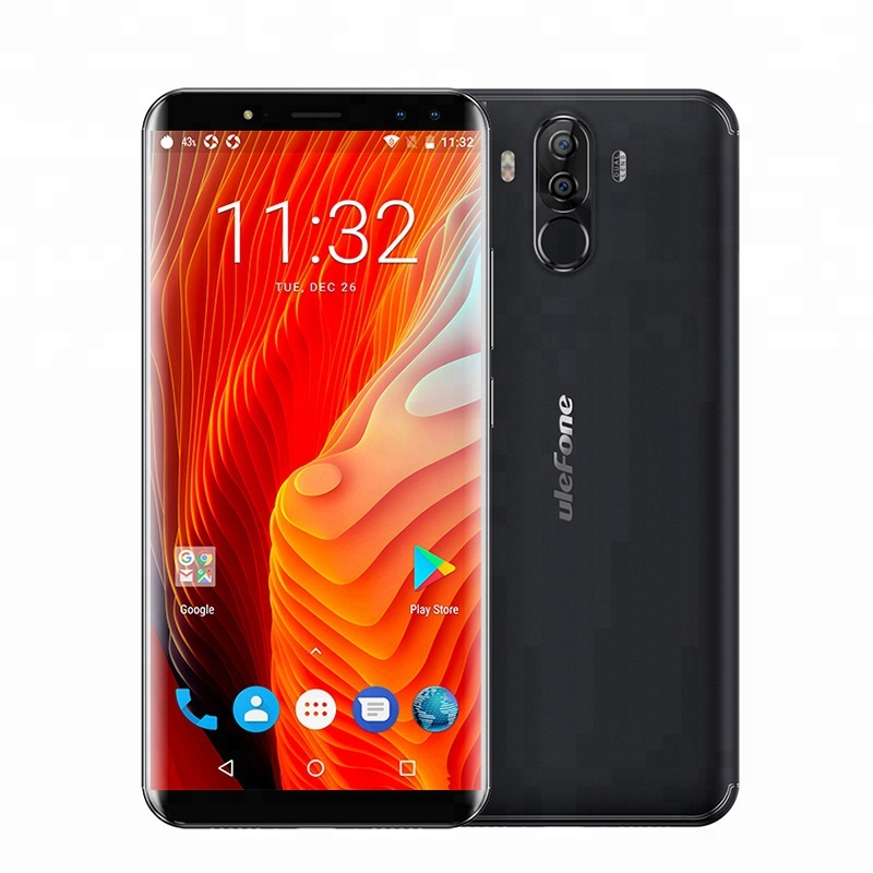 Ulefone Power 3 6 inch 18:9 IPS Screen MT6763 Octa Core 4GB RAM 64GB ROM Volte Supported 4G <strong>Android</strong> 7.0 China Mobile <strong>Phone</strong>
