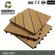 wood plastic decking DIY deck <strong>flooring</strong> with low maintance cost