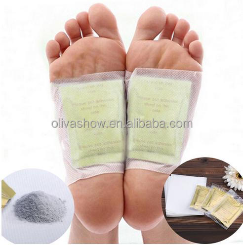Gold Foot Detox Patches Gold Bamboo Slim Detox Foot Patch With Adhesive Plaster Organic Herbal Cleansing Patches