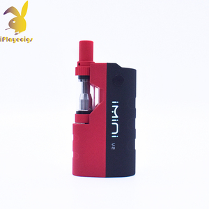 New products e cig box mod imini V2 650mAh 510 thread CBD Box Vape Mod