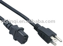 American ul approved ac power cord with plug