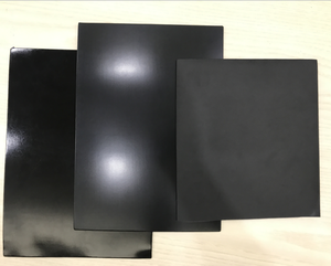 Neolite Black Rubber Sheet for Shoe Sole