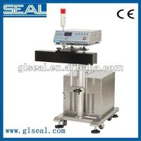 Approved CE certificate of high speed aluminum sealing and filling machine for process line