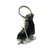 custom beautiful best friend ski shoes keyring