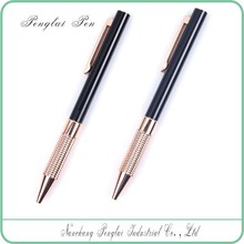 colorful classic business metal ball pen gift logo printed promotional thin metal ball pen