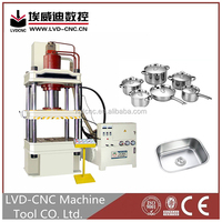 Punching machine hydraulic press 250 ton, hydraulic press cutting machine with ISO and CE certification