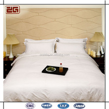 5 Star Guangzhou Manufacture 400T White Cotton Hotel Bed Linen/Hotel Bedding Set/Hotel Duvet Cover