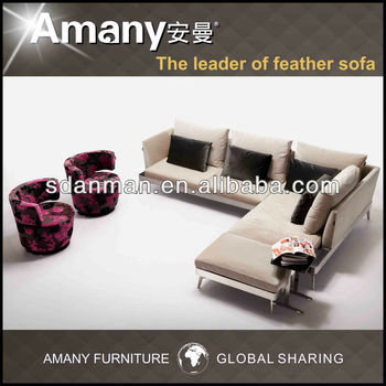 Fashion design comfortable home furniture sectional sofa