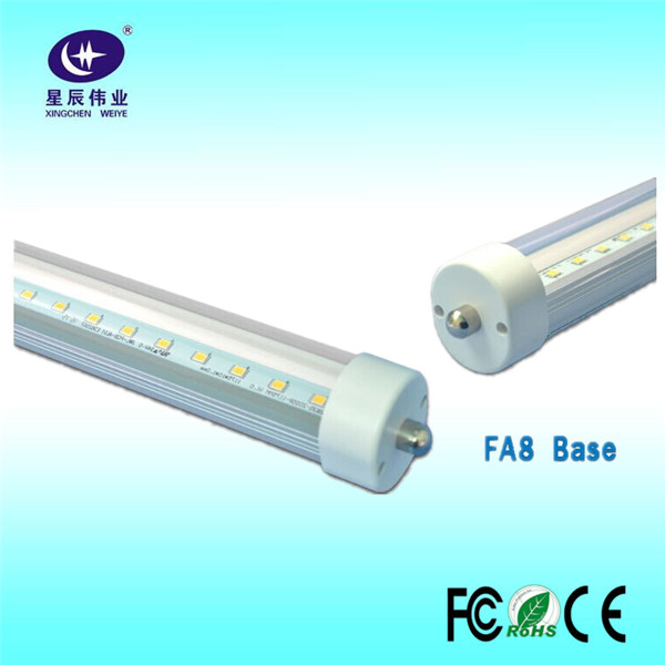 Hot sell 8ft 2.4M 2400mm 38W 3000k 4000k 5000k 6000k LED T8 tube light with 2835 SMD LED