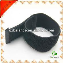 nylon elastic self-gripping strap with plastic buckle