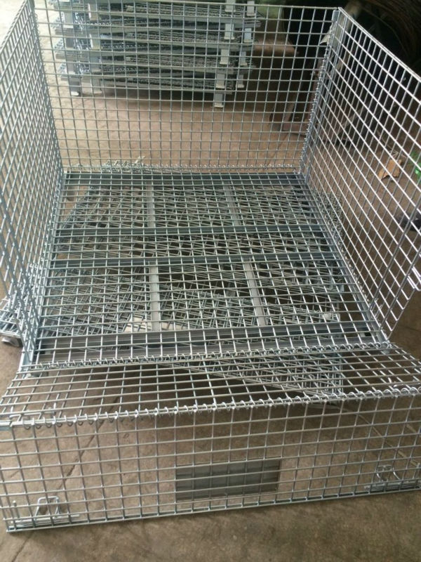 metal box International standard container warehouse cage with full open available hot sale