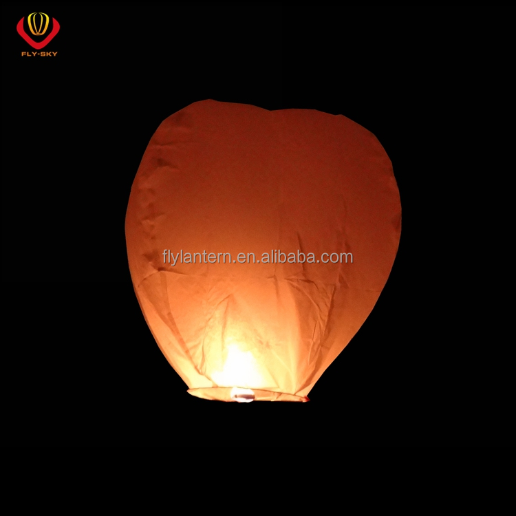 Multi-Color Paper Chinese Lanterns Fire Sky Fly Candle Lamp For Birthday Wish Party Wedding Decoration