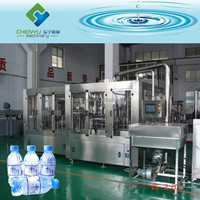 Automatic Small Bottle Mineral Water Filling Plant