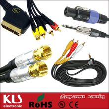 Good quality female usb to rca cable UL CE ROHS 196 KLS brand