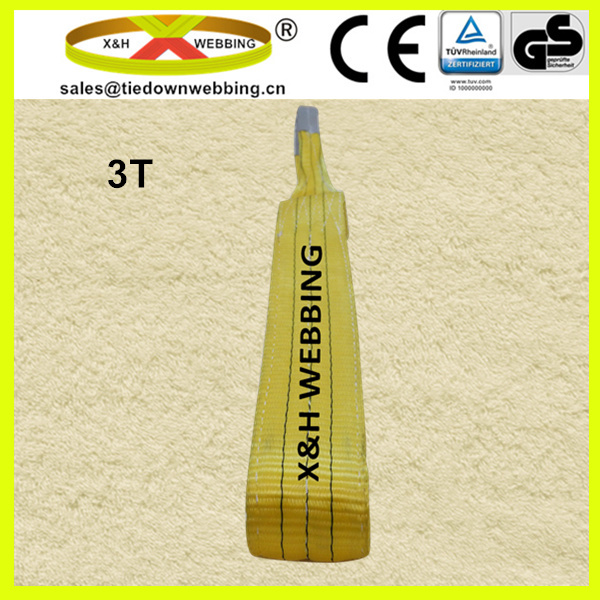 3T soft lifting webbing sling