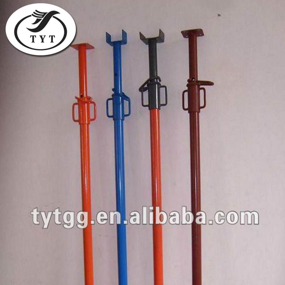Types of scaffolding/adjustable gi steel prop for sale