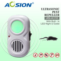 Indoor use ultrasonic rodent chaser keep your house tidy