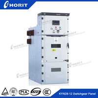 KYN28-12AC metal-clad electrical distribution board withdrawable switch cubicle
