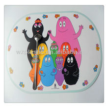Oval shape plastic table place mat/kids plastic table mat