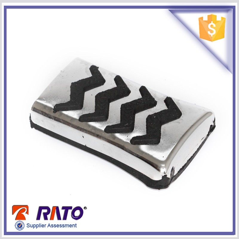 China wholesale rubber foot pedal pad for motorcycle parts